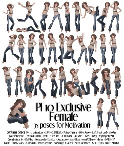 pose fair explusive female